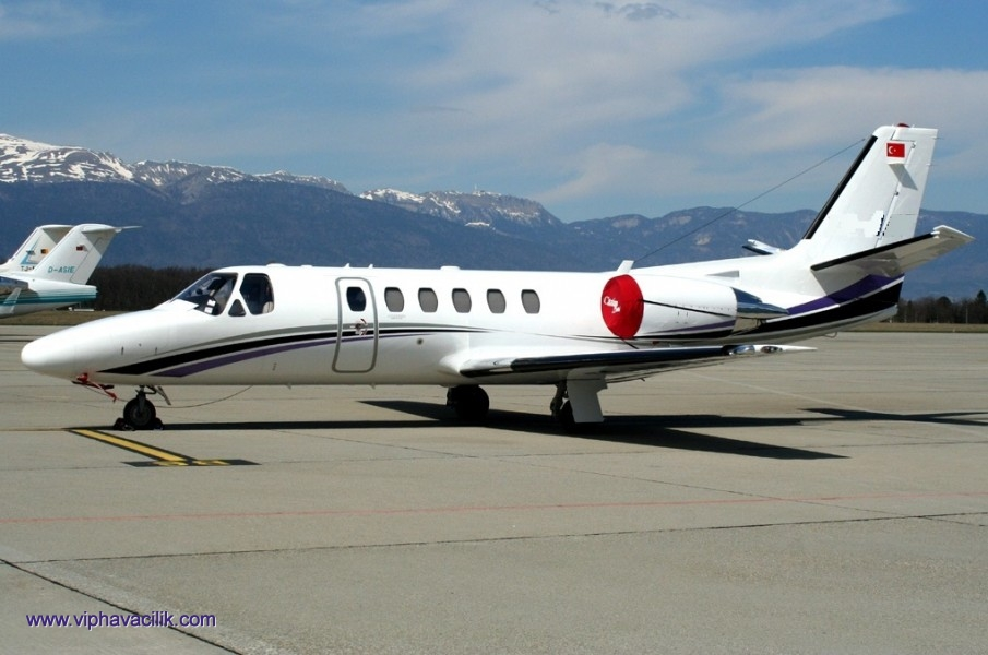 PRIVATE JET CHARTER TURKEY - CESSNA, ASK PRICE, CONTACT - VIPHAVACILIK.COM